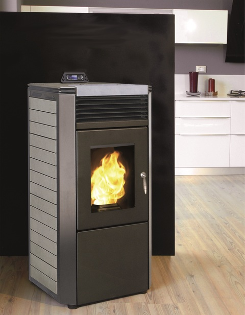 po le pellets air canalisable k domino 14kw bestove 3 colories. Black Bedroom Furniture Sets. Home Design Ideas