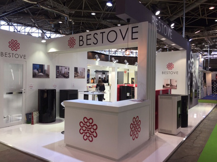 Large 2fbestove salon flamexpo